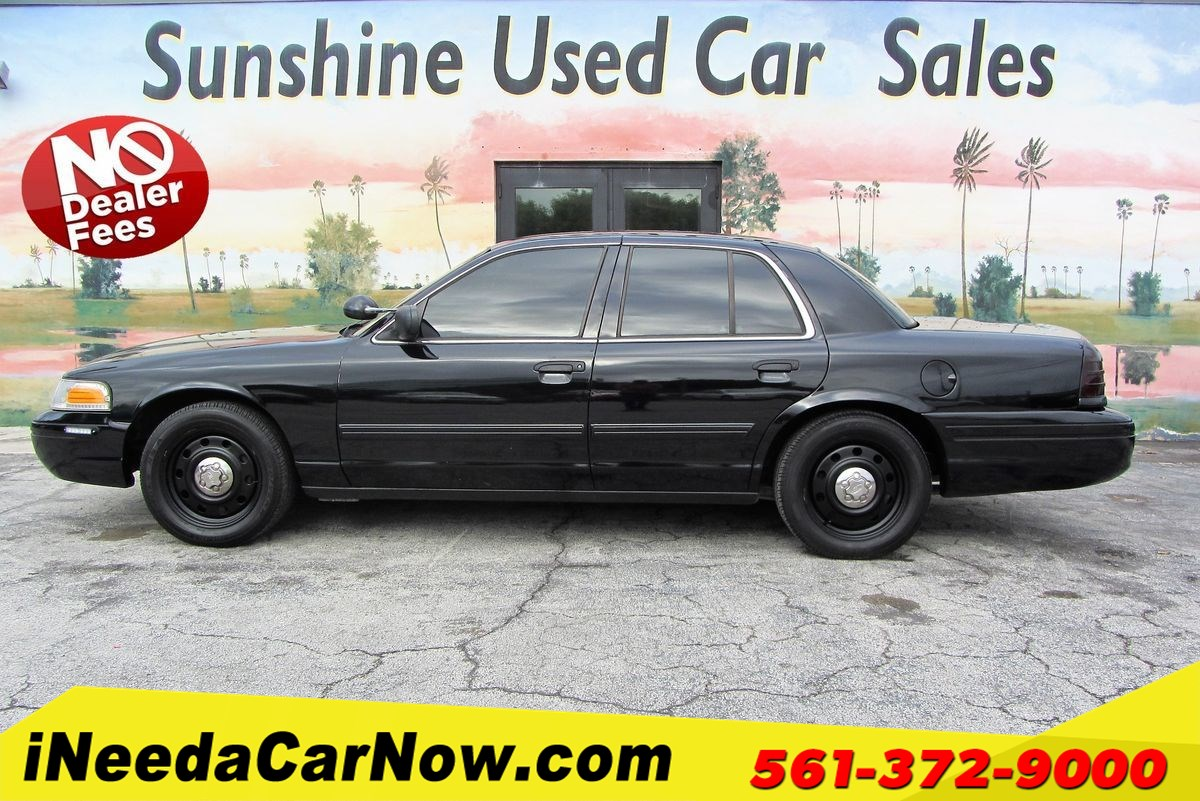 2010 Ford Crown Victoria Interceptor Only $1999 Down** $65/Wk