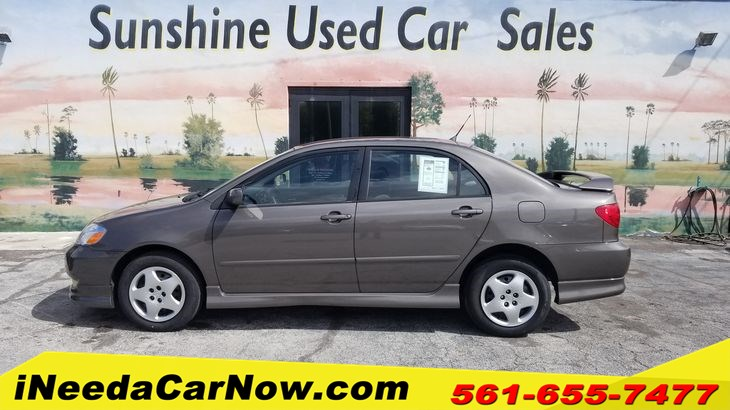2003 Toyota Corolla S Only $1299 Down** $67/Wk