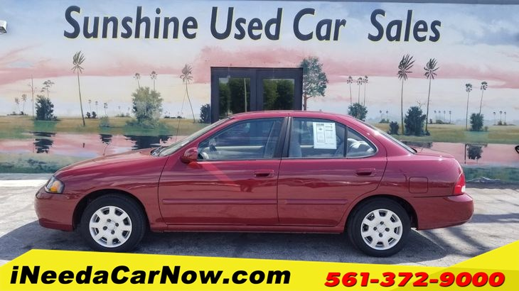 2002 Nissan Sentra Only $1199 Down** $60/Wk