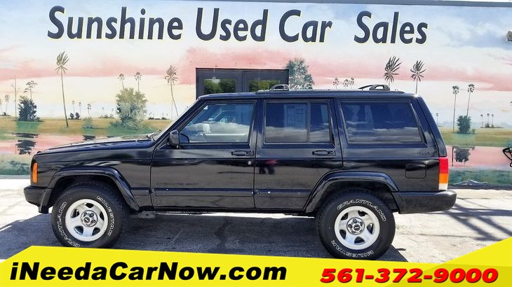 2001 Jeep Cherokee Sport 4WD Only $7499
