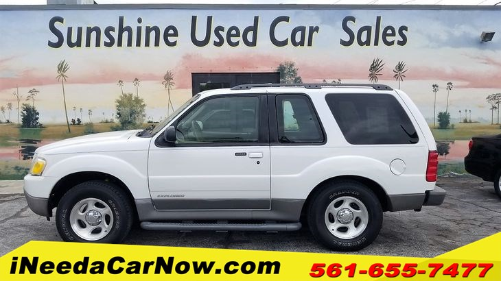 2001 Ford Explorer Sport Only $1299 Down** $60/wk