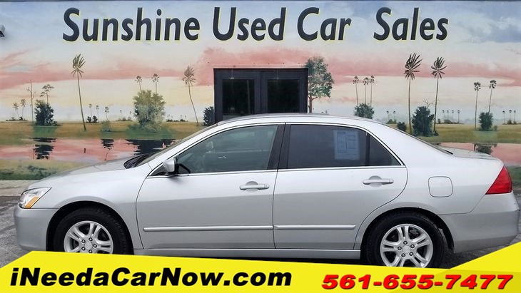2007 Honda Accord LX SE Only $1999 Down** $72/Wk