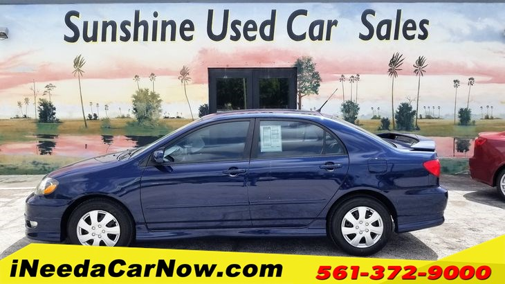 2005 Toyota Corolla S Only $1299 Down** $60/wk