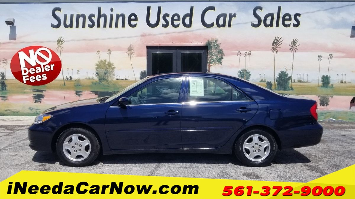 2003 Toyota Camry LE Only $1699 Down** $70/Wk