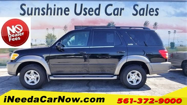 2002 Toyota Sequoia SR5 Only $2499 Down** $74/Wk