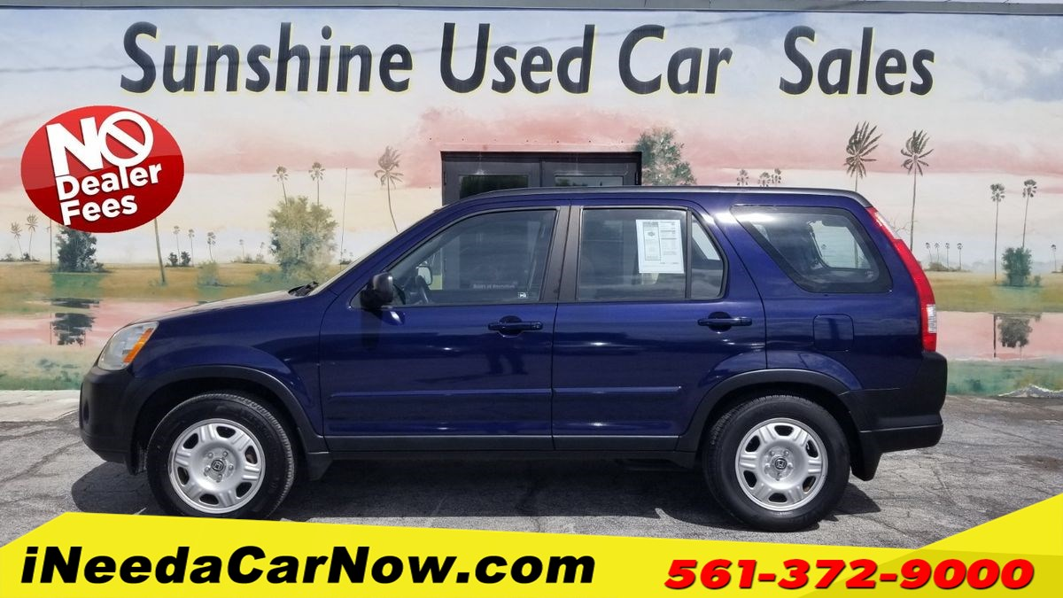 2005 Honda CR-V LX Only $1999 Down** $72/Wk