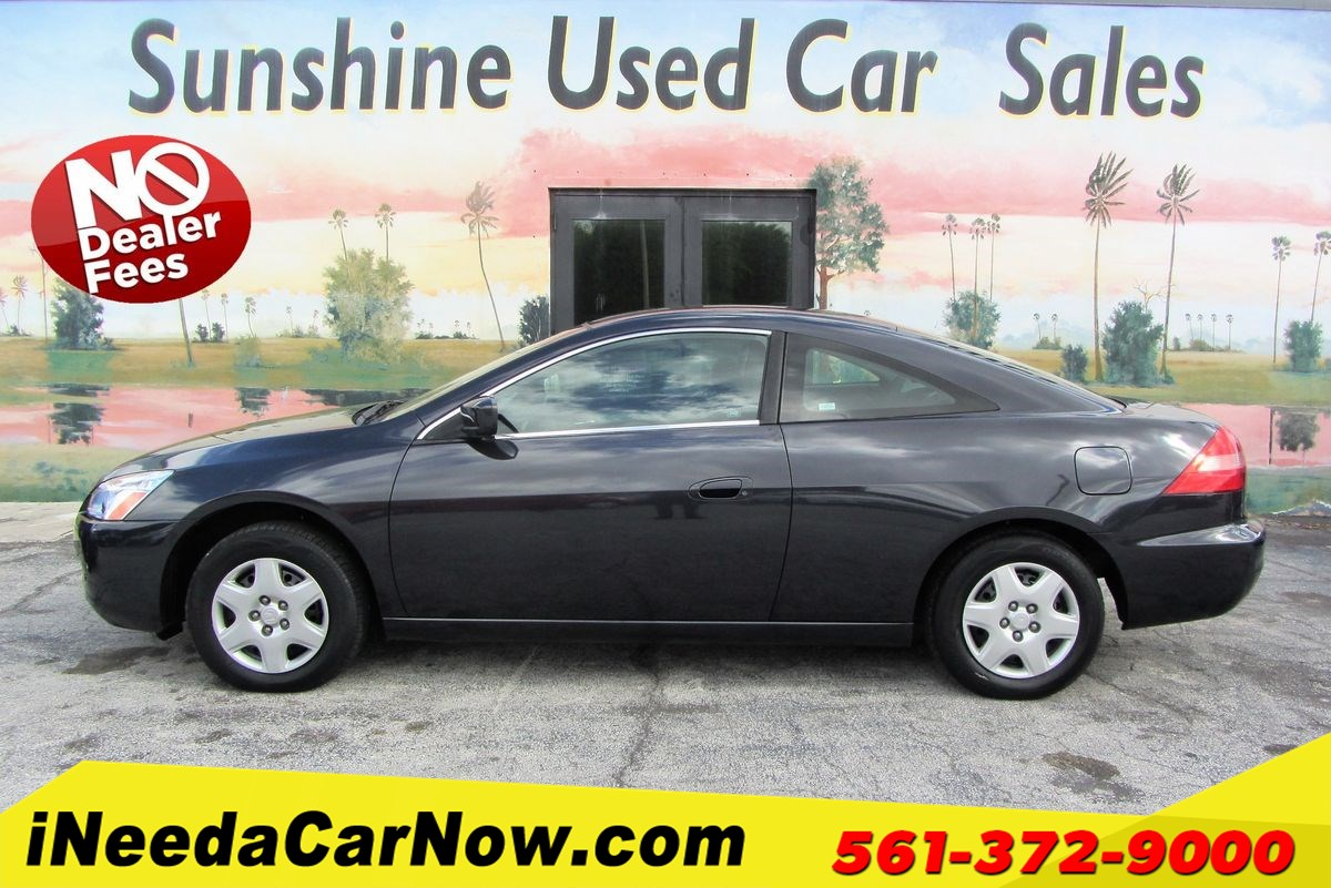 2004 Honda Accord Cpe LX Only $1399 Down** $60/Wk