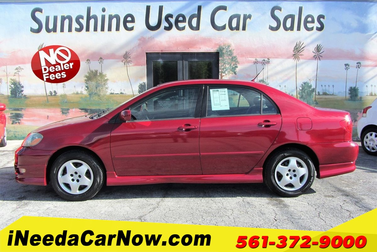 2007 Toyota Corolla S Only $2499 Down** $72/wk