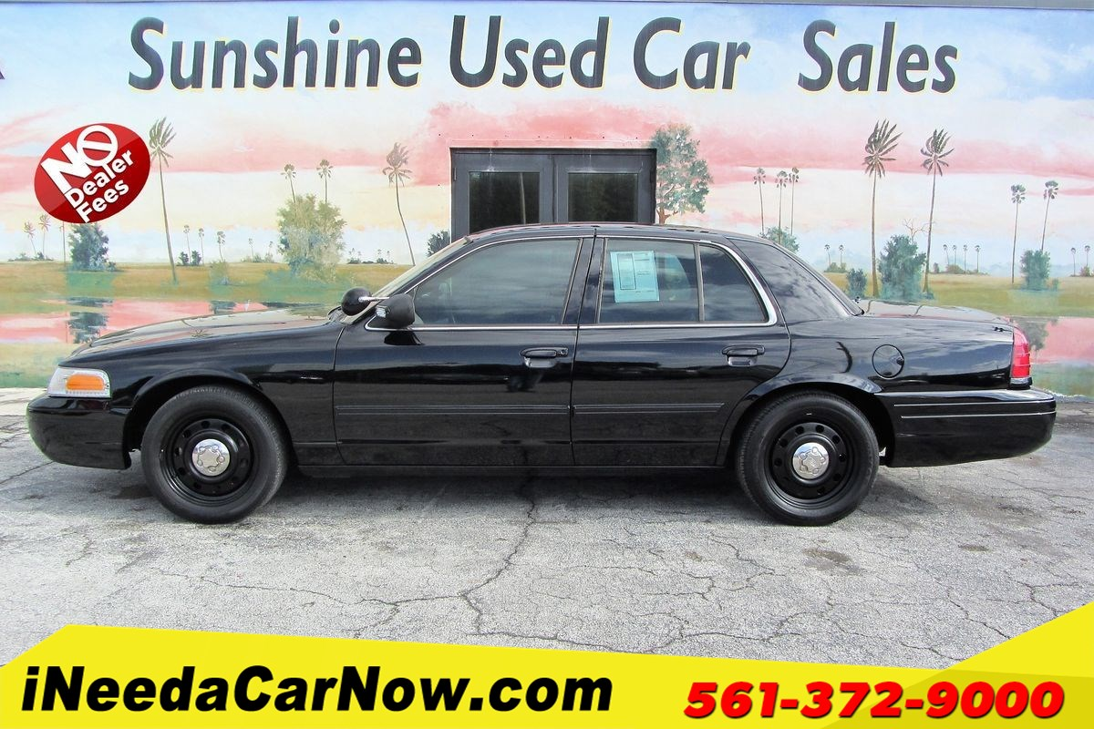 2010 Ford Crown Victoria Interceptor Only $1999 Down** $79/wk
