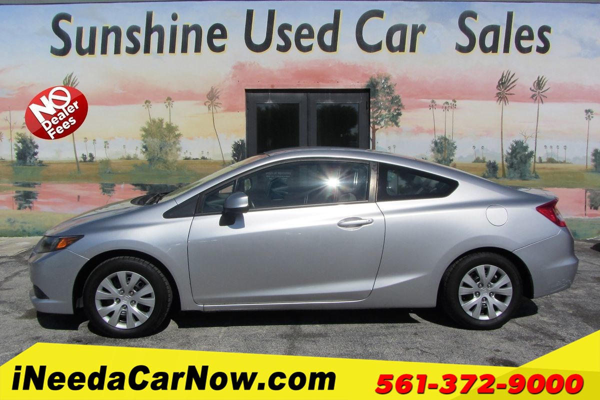2012 Honda Civic Cpe LX Only $2999 Down** $73/Wk