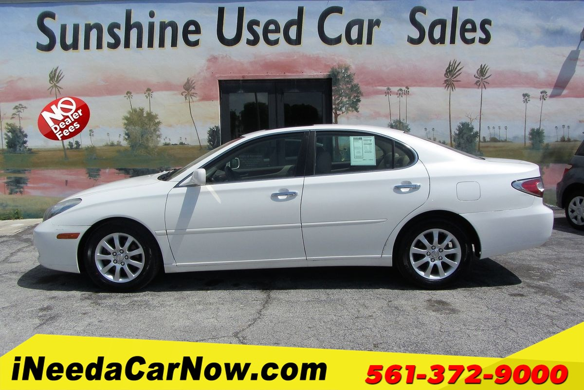 2002 Lexus ES 300 Only $2499 Down** $68/Wk