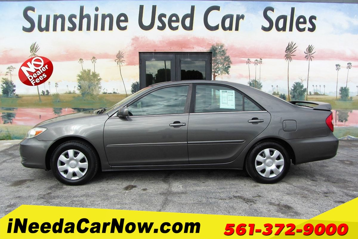 2004 Toyota Camry LE Only $2499 Down** $68/Wk