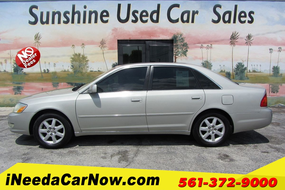 2002 Toyota Avalon XLS Only $1749 Down** $68/Wk