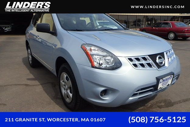 Sold 2015 Nissan Rogue Select S In Worcester