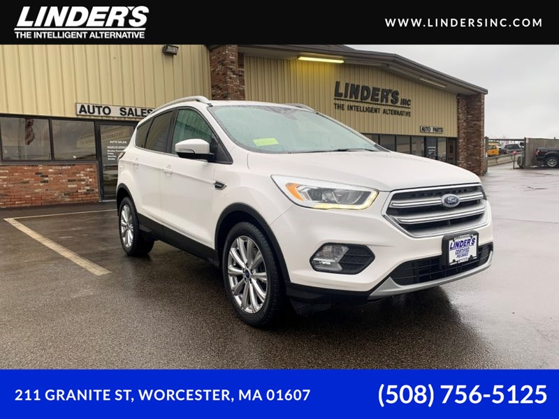 2017 Ford Escape Titanium Ecoboost AWD