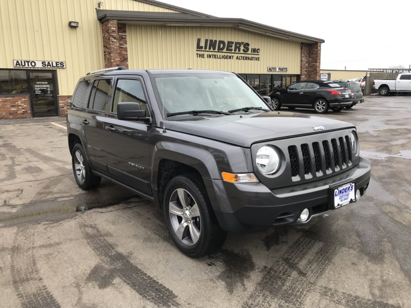 Sold 2017 Jeep Patriot High Altitude 4x4 In Worcester