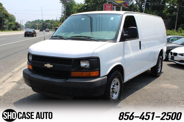 Sold 2010 Chevrolet Express Cargo Van In Belford