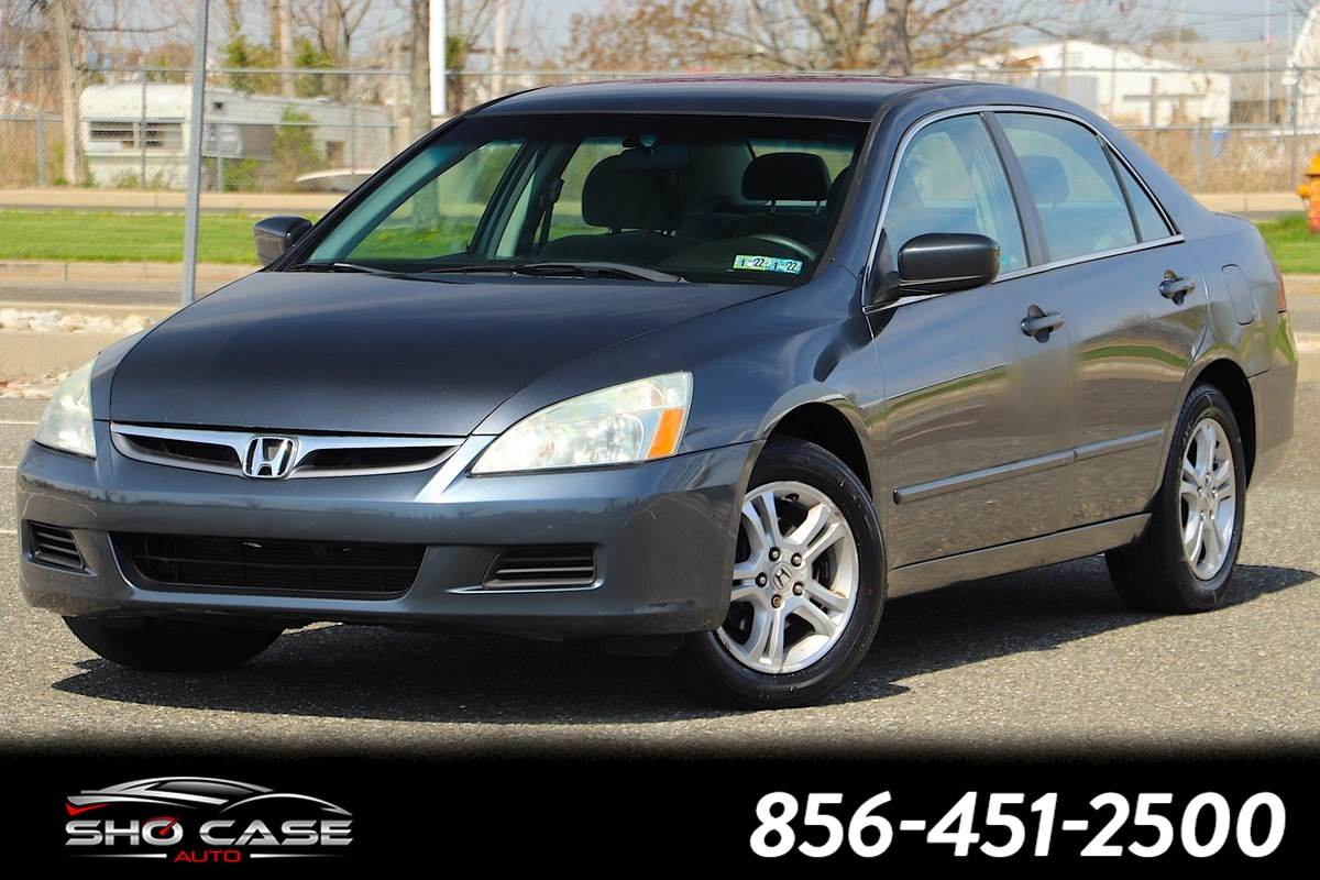 2007 Honda Accord Sdn LX SE