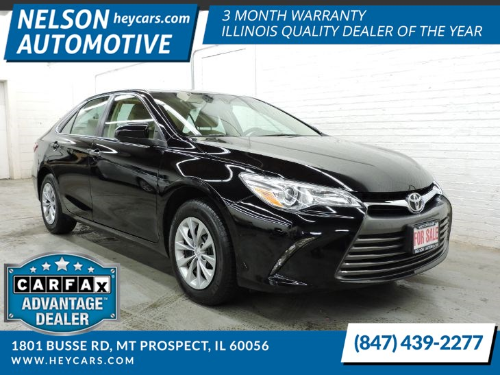 Sold 2017 Toyota Camry Le In Mt Prospect