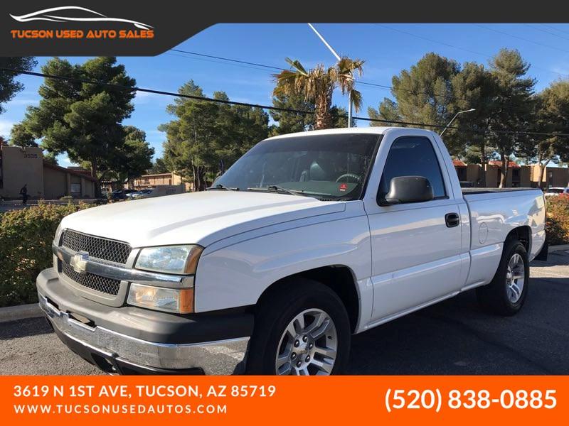 Sold 2004 Chevrolet Silverado 1500 Work Truck In Tucson