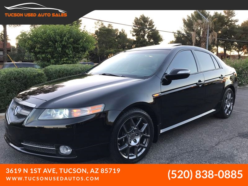 2007 Acura Tl Type S For Sale >> 2007 Acura Tl Type S Summer Tires Tucson Used Auto Sales