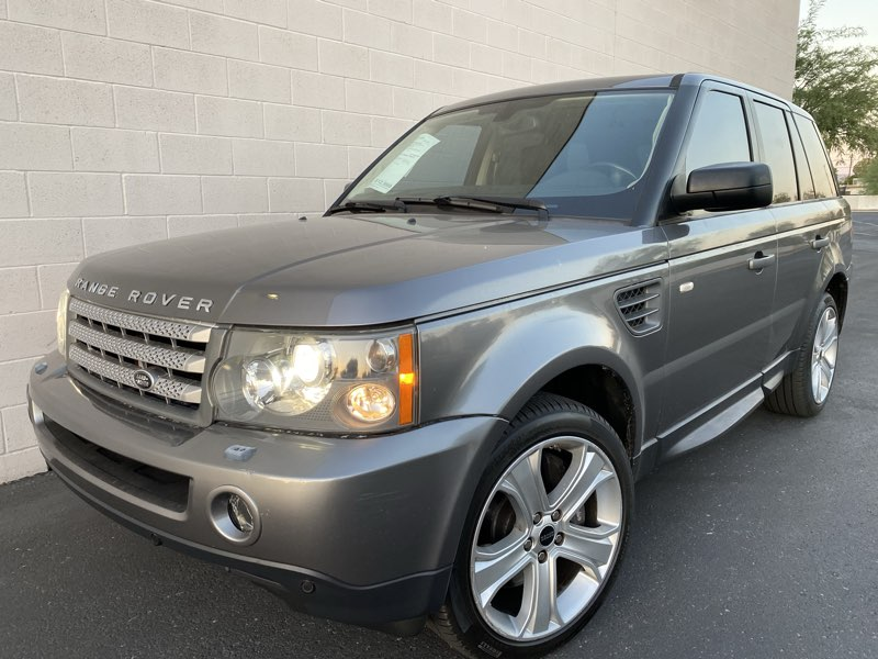 2009 Land Rover Range Rover Sport SUPER CHARGE SC