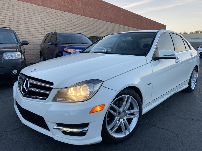 2012 Mercedes-Benz C 250 Luxury Sedan