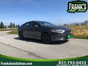 View 2018 Ford Fusion Hybrid