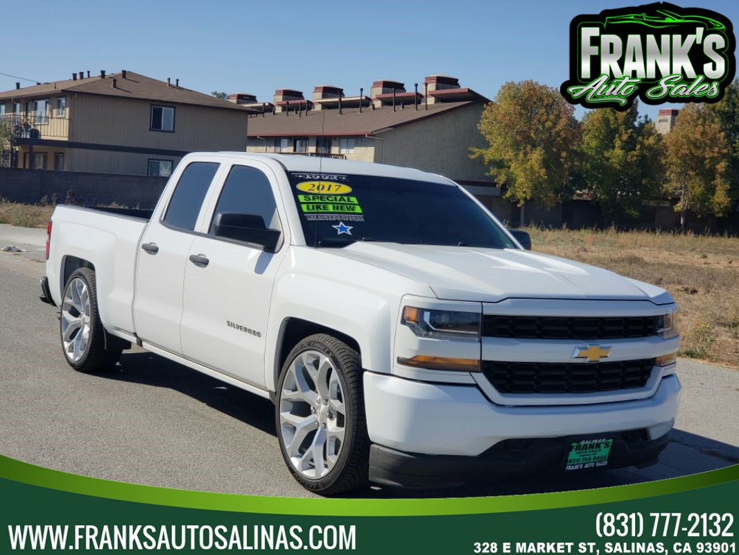 "2017 Chevrolet Silverado 1500 2WD Double Cab 143.5"" Custom"
