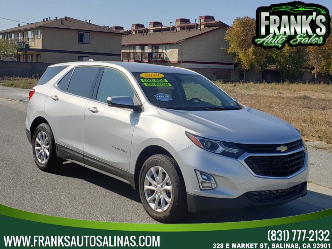 2018 Chevrolet Equinox LT w/1LT Package AWD