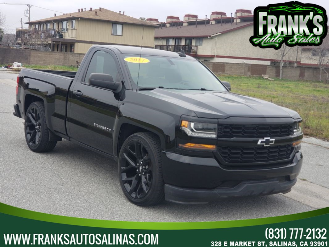 "2017 Chevrolet Silverado 1500 2WD Reg Cab 119.0"" Black Out Edition"