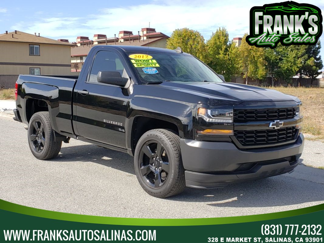 2017 Chevrolet Silverado 1500 Black Out Edition
