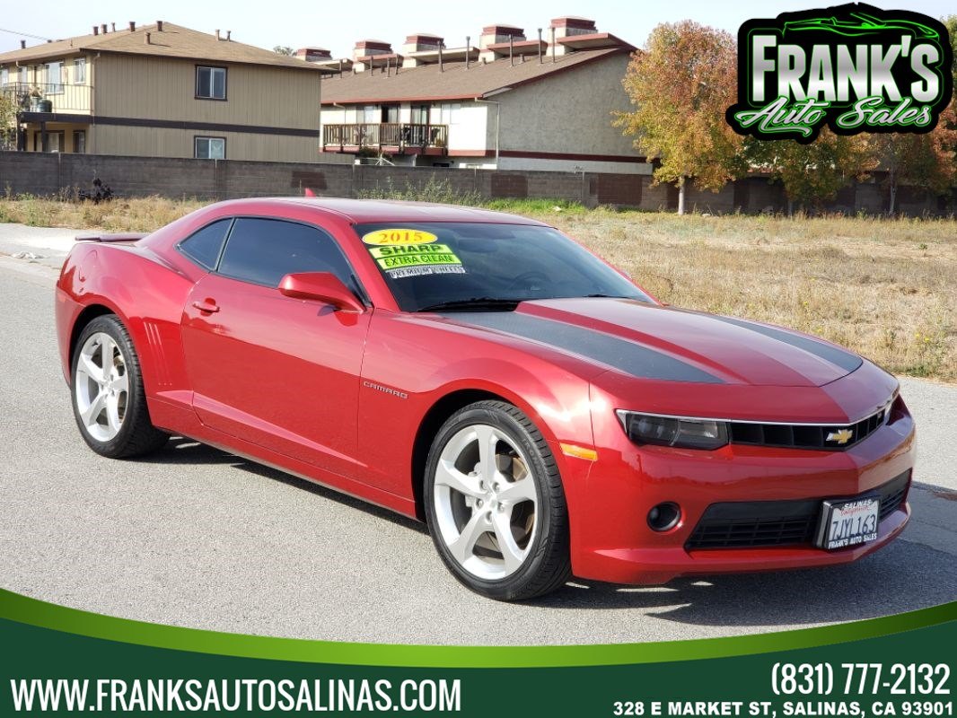 2015 Chevrolet Camaro 2dr Cpe LT w/1LT RS Package