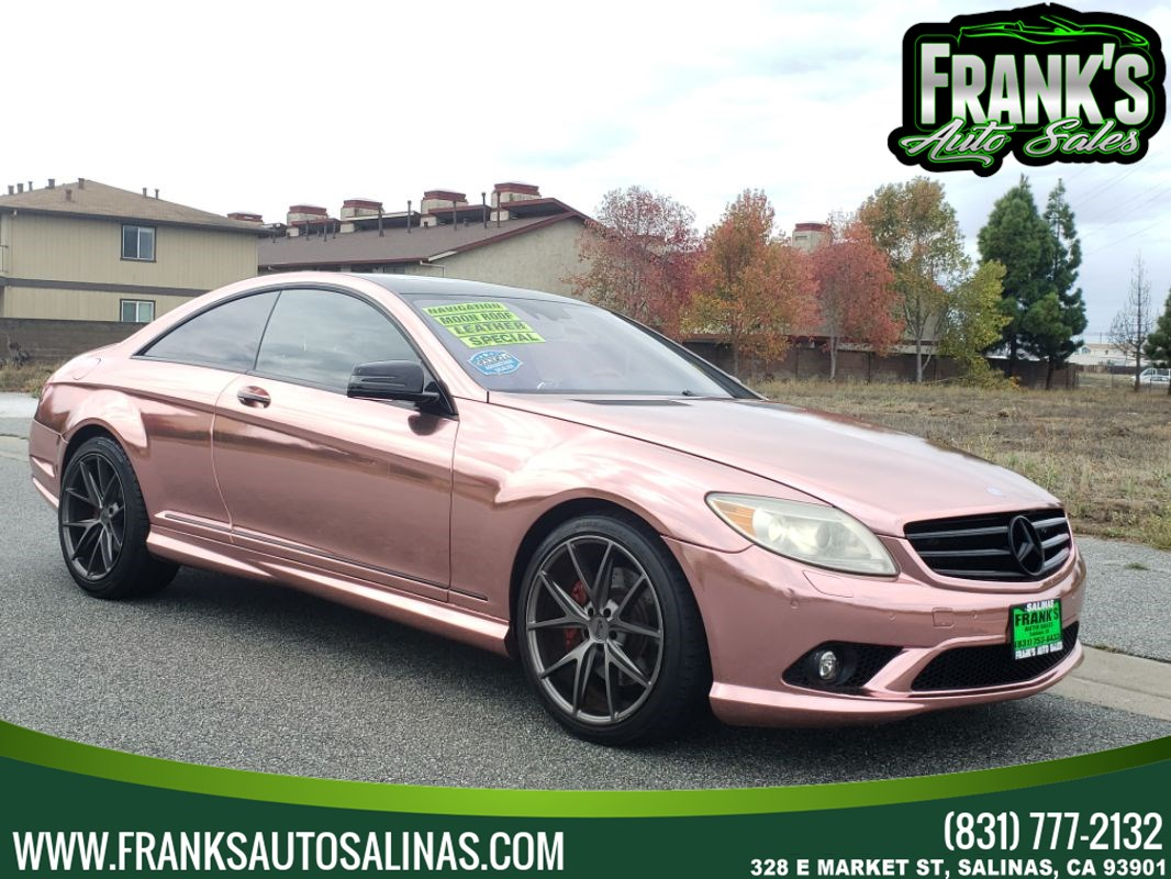 2010 Mercedes-Benz CL 550 Coupe