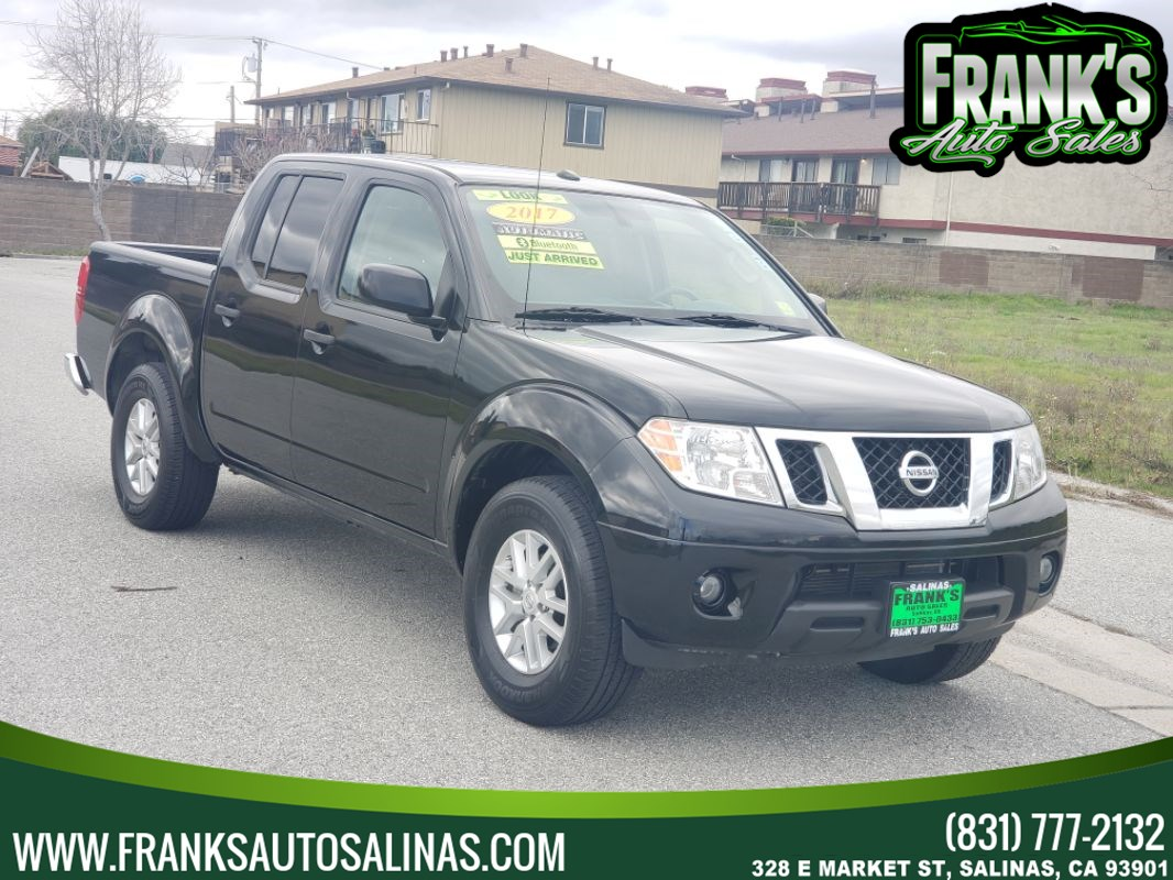 2017 Nissan Frontier 4x2 SV V6 Auto