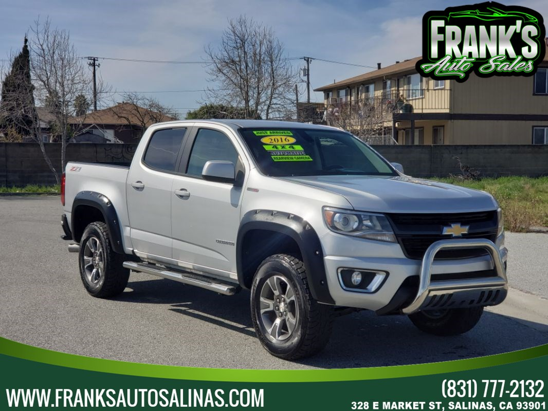 Sold 2016 Chevrolet Colorado 4wd Crew Cab 128 3 Z71 In Salinas