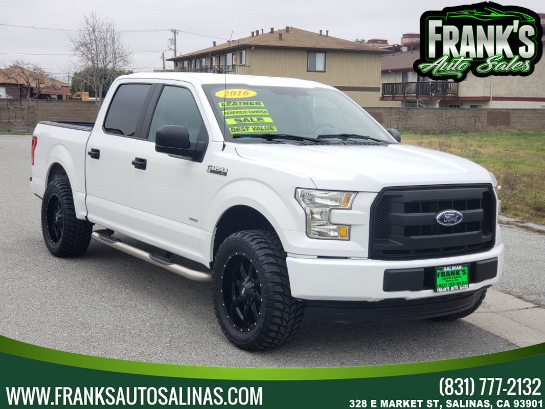 2016 Ford F-150 2WD SuperCrew XL