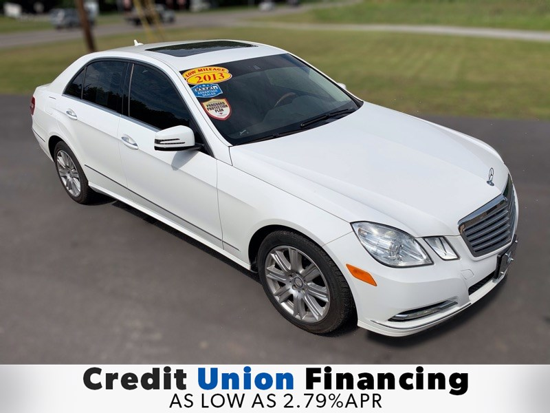 2013 Mercedes-Benz E 350 4MATIC Luxury Sedan