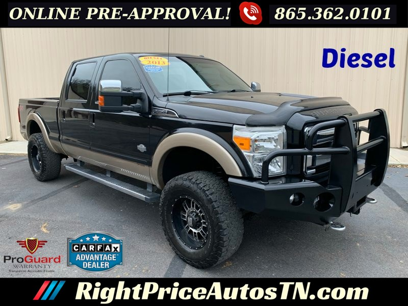 2013 Ford Super Duty F-350 SRW King Ranch