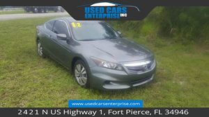 View 2012 Honda Accord Cpe