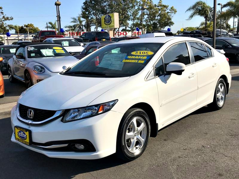 2015 Honda Civic Sedan CNG