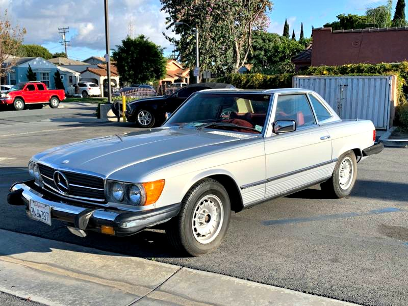 1977 Mercedes-Benz 450SL 2dr Coupe