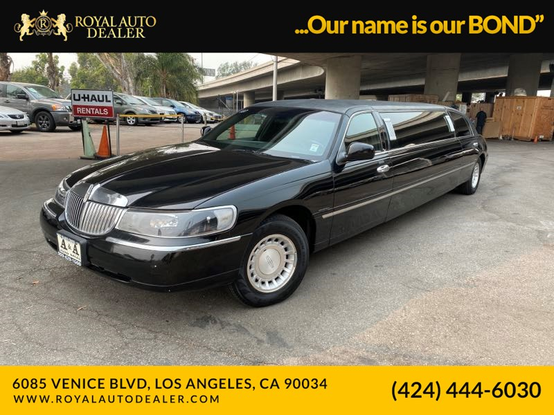 2001 Lincoln Town Car Executive Stretch Limousine