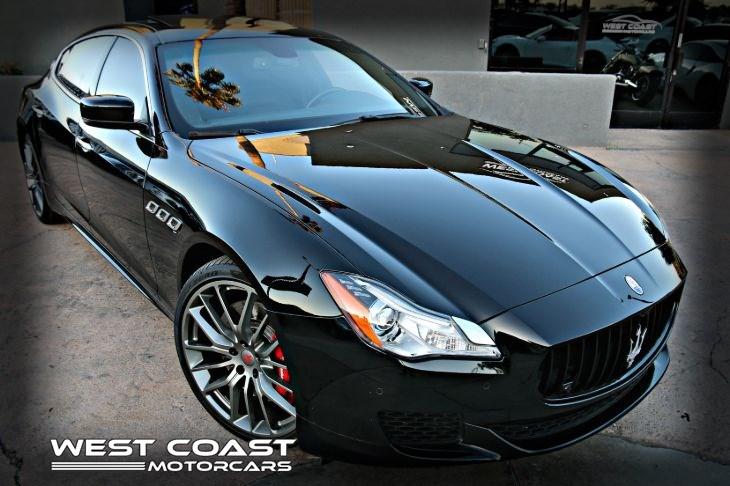 2015 Maserati Quattroporte >> 2015 Maserati Quattroporte Sport 21 Pkg Carbon Fiber Trim Gts Luxury Pkg Suede Headliner Msrp 156 200 West Coast Motor Cars