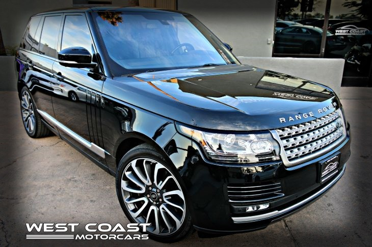 2016 Land Rover RANGE ROVER HSE SUPERCHARGED EXECUTIVE  HIGHLY OPTIONED LUXURY PKG 1-OWNER *MSRP($111,430)