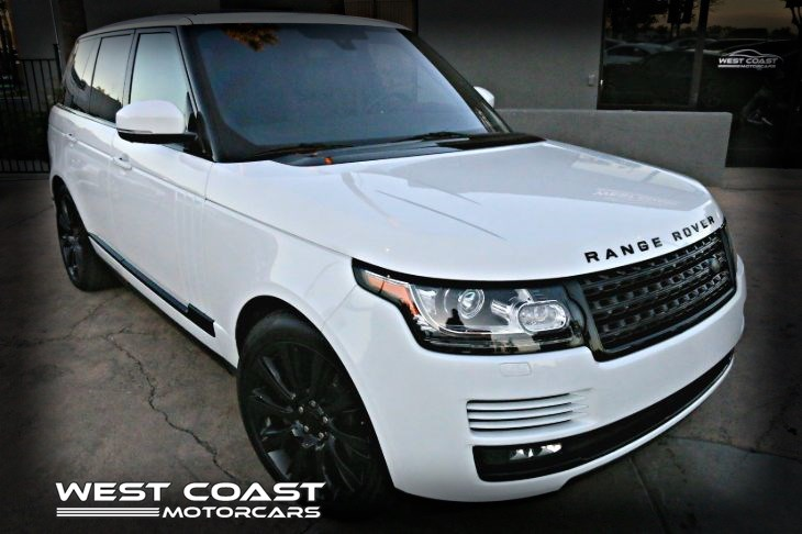 2016 Land Rover Range Rover *ONE OWNER *REAR SEAT ENTERTAINMENT Supercharged *VISION ASSIST PACK *MSRP($112,805)