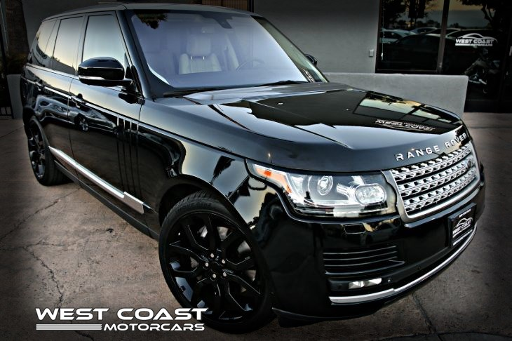 2015 Land Rover Range Rover *RARE COLOR COMBO*SILVER CONTRAST ROOF Supercharged *VISION ASSIST PACK *MSRP($106,505)