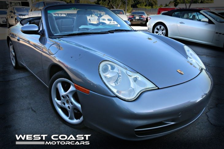 2002 Porsche 911 Carrera *ADVANCED TECHNIC PKG *320+HORSE-POWER Cabriolet *6 SPEED MANUAL *MSRP($94,635)