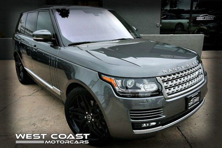2015 Land Rover Range Rover Supercharged *MERIDIAN SURROUND SOUND Highly Optioned VISION ASSIST PKG *MSRP($110,270)