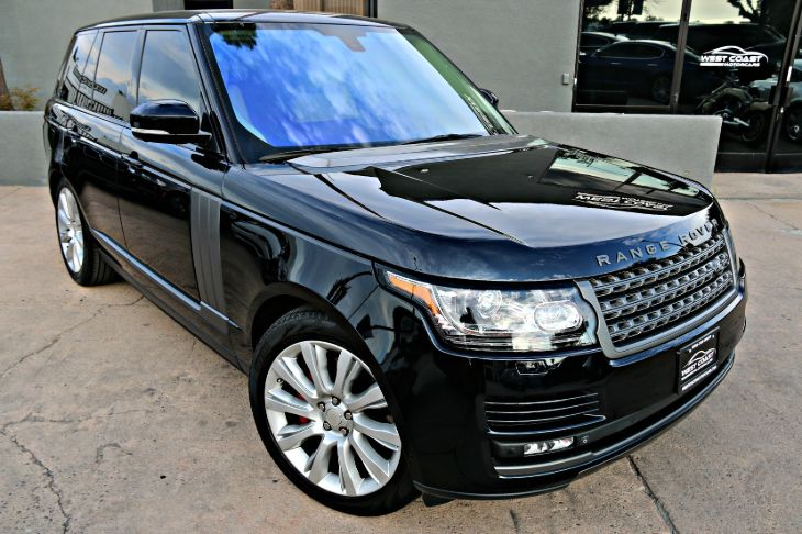 2014 Land Rover Range Rover *HARD TO FIND COLOR COMBO* 4X4 MASTER Supercharged *VISION ASSIST *MSRP($126,985)